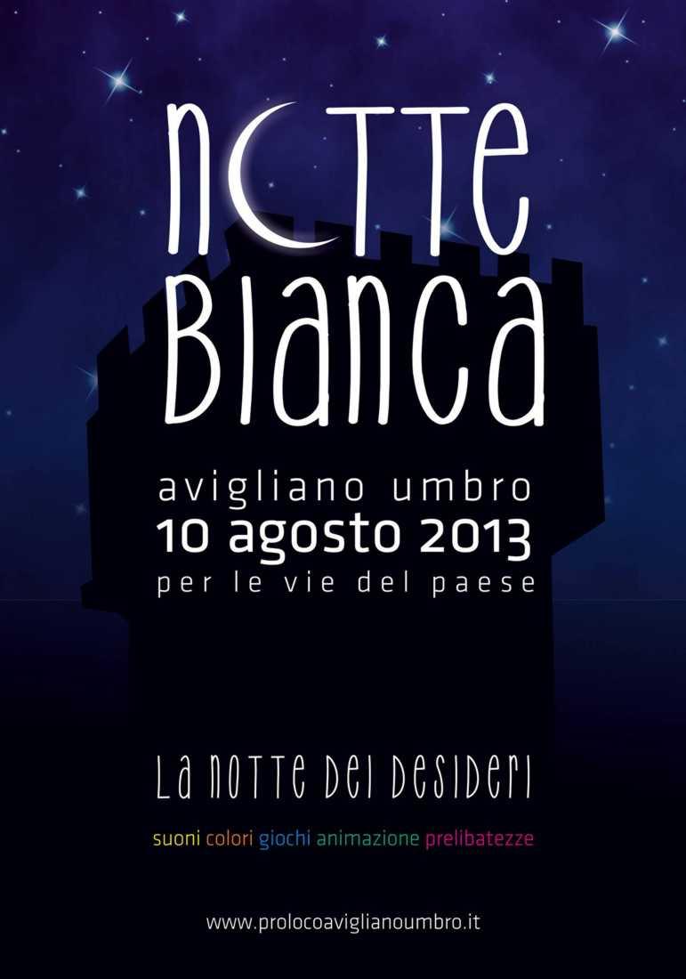 Notte Bianca 2013, Avigliano Umbro